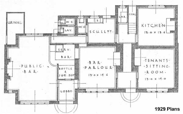 old house plan - arts